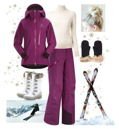 """""""Ski weekend in the Swiss Alps"""" by hm-queen-rose ❤ liked on Polyvore featuring Arc'teryx and Ermanno Scervino"""