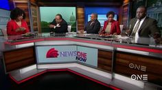 Chelsea Williams on TV One's News One Now with Roland Martin