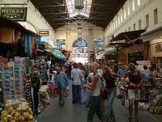 Chania indoor market, Crete, Greece