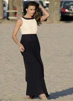 Irina shayk dress