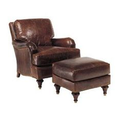 "Quinton ""Designer Style"" Traditional English Arm Leather Sofa Collection: Quinton ""Designer Style"" Traditional English Arm Leather Club Chair"