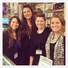 The wonderful ladies of our Portland, Maine jewelry store!