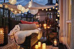 farolillos para el balcón