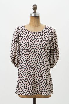 dot blouse / anthropologie