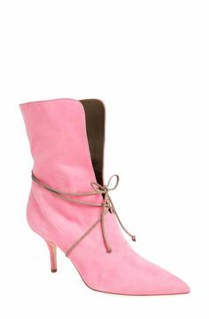 Malone Souliers Hilary Lace-Up Bootie (Women)
