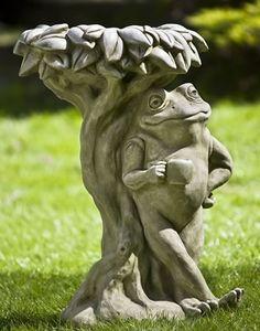 Frog Bird Bath