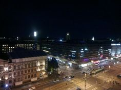 Helsinki at night