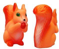 eekhoorn -bad -piep speelgoed