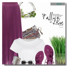 """""""purple love - stylemoi July, 23"""" by bynoor ❤ liked on Polyvore"""