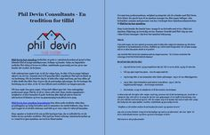 Phil Devin Consultants - En tradition for tillid
