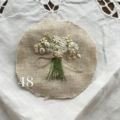 Blumenstrauss - tiny flower bouquet - thread
