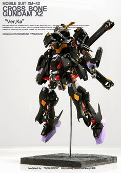 MG 1/100 XM-X2 Crossbone Gundam X2 'Open Hatch' - Customized Build