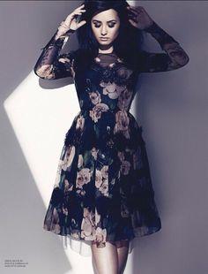 Demi Lovato photoshoot for Fashion Magazine.