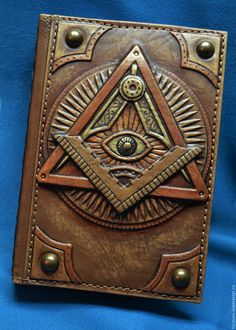 Leather Gifts, Leather Books, Leather Notebook, Leather Journal, Sewing Leather, Leather Craft, Leather Tooling, Leather Wallet, Steampunk Book