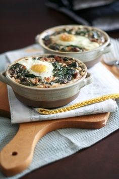 Spinach and Buckwheat Egg Bake  made this using quinoa in place of amaranth, frozen spinach, feta in place of cheddar, mace in place of nutmeg and no walnuts. Made the night before up to baking step and then finished in the morning.