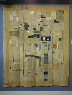 """sweetpeapath: """" Nostalgia by Kayoko Watanabe - from 2010 Tokyo International Great Quilt Festival Original Design Quilt Category, 3rd prize Photo by Be*mused on flickr """""""