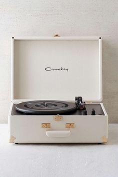 Crosley X UO AV Room Cream Portable USB Vinyl Record Player