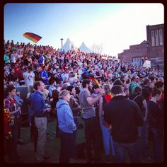Euro12 public viewing at Ostbahnhof