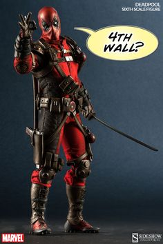 Marvel Deadpool Sixth Scale Figure by Sideshow Collectibles   Sideshow Collectibles
