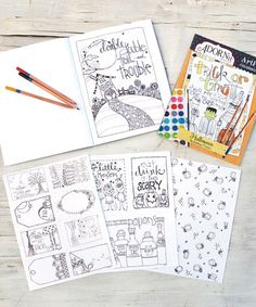 Love this Halloween Paperback Coloring Book on #zulily! #zulilyfinds