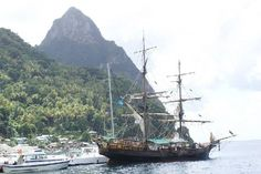 The Brig Unicorn-used in Pirates of the Carribean for a day cruise or sunset cruise