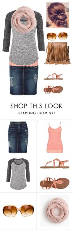 """""""Untitled #149"""" by dree-snow17 ❤ liked on Polyvore featuring Current/Elliott, maurices, Tantra, Oliver Peoples and J.Crew"""
