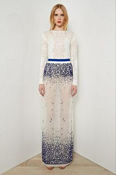 god, i need an excuse to wear something like this... from Rachel Roy Resort 2014