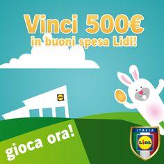"""Vinci buoni spesa Lidl con il """"Rally di Pasqua"""" - http://www.omaggiomania.com/concorsi-a-premi/vinci-buoni-spesa-lidl-rally-pasqua/"""