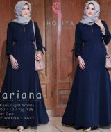 Mariana Dress Navy