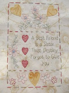 (7) Name: 'Quilting : The Friendship Quilt - Block 8
