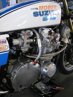 Good old fashioned Suzuki GS1000 Superbike Vintage Racer | Motorcycle Photo Of The Day