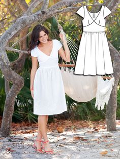 Bright Whites: 6 New Sewing Patterns – Sewing Blog | BurdaStyle.com