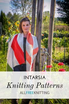 If you've never tried intarsia before, you HAVE to! It's not that difficult, and some of the patterns you can make with it are really cool. Intarsia Knitting, Easy Knitting, Knitting Patterns Free, Knitting Tutorials, Scary Words, Learn How To Knit, All The Colors, Craft Items, Collection