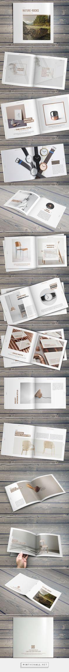 Nature-Rocks Square Portfolio Brochure BY Hazem Tawfik