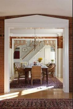 RAZMATAZ: Sarah Richardson's Farmhouse-Part 6-The Living Room and Dining Room-A Double Post of Sarah