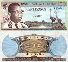 Democratic Republic of the Congo 100 Francs 1.9.1961