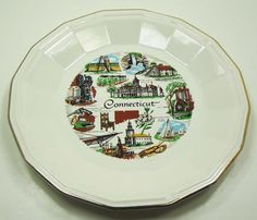 Vintage Connecticut State Collector Plate by Homer Laughlin Made In U.S.A., http://www.amazon.com/dp/B009JWIE4O/ref=cm_sw_r_pi_dp_typAqb1VVC24D