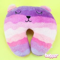 Cute Neck Pillow - Purple - Home & Deco - Other Products | Blippo.com - Japan & Kawaii Shop