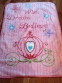Wish, Dream and Believe Baby Blanket with Carriage and Butterflies by Everything fleece, http://www.amazon.com/dp/B0061C2JTG/ref=cm_sw_r_pi_dp_PQOOrb1VB8F00