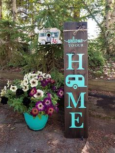 PORCH SIGNS Porch Signs (wood welcome sign, Welcome porch sign, Front porch welcome sign, Front porch distressed welcome sign, Front porch wooden welcome sign) Add some Curb Appeal! Wooden Welcome Signs, Porch Welcome Sign, Country Wood Signs, Ensemble Patio, Camper Signs, Décor Antique, Camping Crafts, Camping Hacks, Camping Supplies