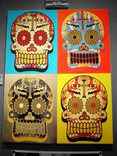 Dia De Los Muertos! by Mark Malazarte, via Behance