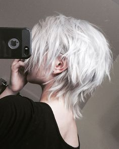 — noodle head Best Picture For modern punk hair For Your Taste You are looking for something, and it Hair Inspo, Hair Inspiration, Mullet Hairstyle, Mullet Haircut, Shot Hair Styles, Edgy Hair, Goth Hair, Hair Reference, Aesthetic Hair