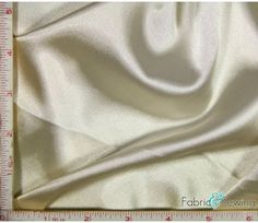 Taupe Shiny & Dull Charmeuse Satin Fabric Polyester 5 Oz 58-60""