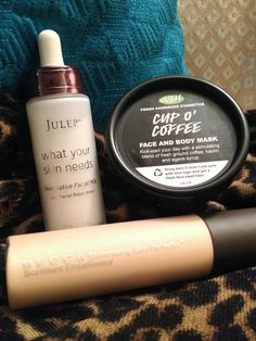The Beauty Brief: featuring Julep Restorative Facial Milk, Lush Cup O' Coffee Mask, and Becca Shimmering Skin Perfector