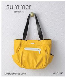 Love this affordable yellow faux snakeskin purse from MyStylePurses.com