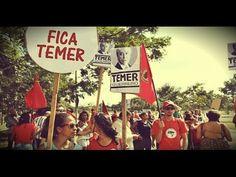 "REAIS motivos do ""Fora Temer"". Flagra de Deputada ultrajando Hino Nacion..."