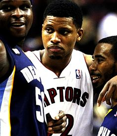 Zach Randolph, Rudy Gay & Mike Conley. We miss you, Rudy!! Looks like you miss us, too.