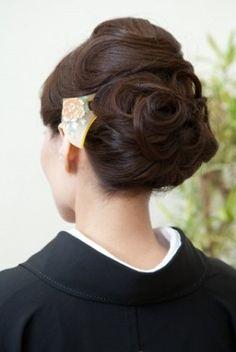 留袖に合う髪型 - Yahoo!検索(画像)