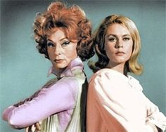 """Endora & Samatha """"Bewitched""""- wasn't allowed to watch it but I stole every opportunity. I loved her long blonde hair & her pretty make-up"""