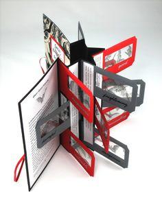 http://www.sharphandmadebooks.com/bookartscience/ #handmade#card#book